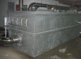 刮板隔油池