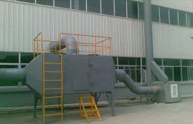活性炭吸附箱计算风量、尺寸及净化效率