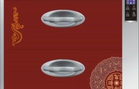 廠家直銷 嵌入式 高溫 臭氧 消毒柜 110C821(紅)