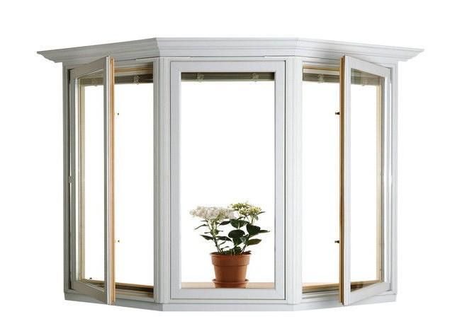 欧式铝合平开窗