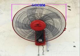 美菱壁扇 办公室摇头墙壁扇 静音电风扇 大风力电扇 成都发货厂家