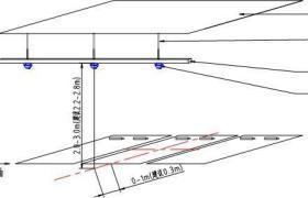 UPARK空車位引導停車誘導系統停車場一體式超聲波車位引導系統