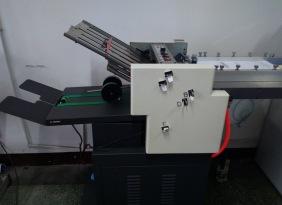 A3全自动折页机 厂家供应吸气式 栅栏式 混合式折页机 小型折页机