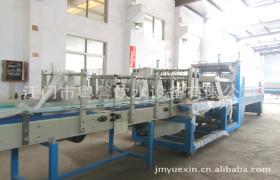 供应自动包裹机 PE膜热收缩裹包机 全套瓶装水PE膜集中包装生产线
