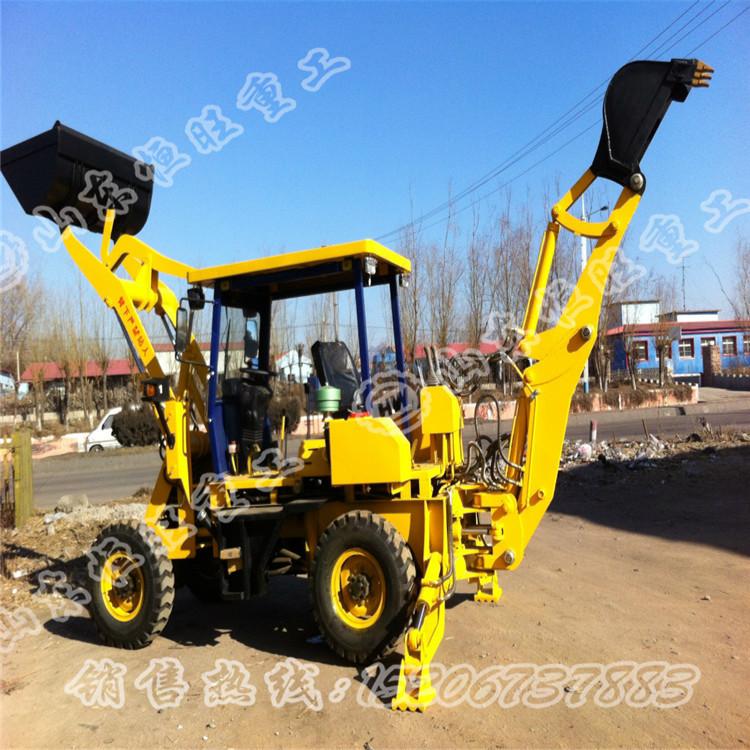 WZ10-10挖掘装载机
