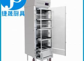 厂家直销12kw双门高温热风循环红外线消毒柜 带车不锈钢消毒柜