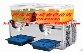 唯利安WLR-2T双缸18升容量饮料机 可乐机 冷饮机 奶茶机 冷热饮机
