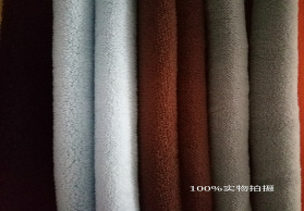 素色单双面珊瑚绒