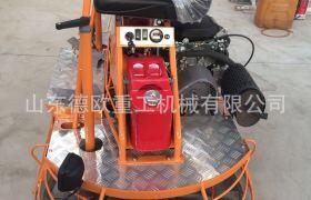 廣場鋪設座駕式抹光機 汽油抹子 水泥路面抹平機 快速提漿