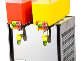 合生冷饮/饮料机 LRSP-9L*2 商用果汁机 两缸 冷热 搅拌型