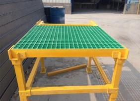 玻璃钢格栅工厂过道平台盖板 玻璃钢栅格板
