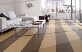 圣特橡胶卷材地板  颜色亮丽  质感柔软 阻燃橡胶地板
