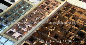 惊爆价!厂家直销(现货)供应30*30水晶马赛克,茶色玻璃磨边镜