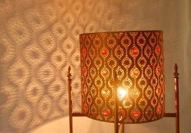 铁艺欧美乡村复古工业风水晶客餐厅卧室咖啡厅吧台创意装饰落地灯