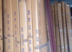 供应优质钢木门 房间门 套装门(图)子母门 对开门 635红拼气窗