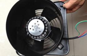 沖鉆沖冠 新型低噪音外轉子風機 強力大流量 節能通風器200