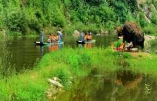 河南漂流 重渡沟竹筏漂流 洛阳漂流哪里好玩