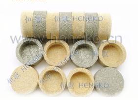 多种型号粉末烧结不锈钢滤筒