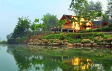 黄山龙湾湖畔创意产业园特色别墅出售