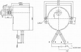 质量可靠  TY-TJP50  交流同步电动机 自动售货机
