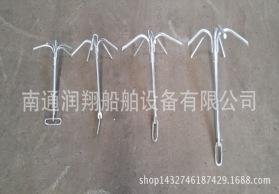 大量供应热镀锌五爪锚  厂家直销  外贸出口 船锚  钩形锚