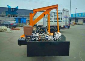 履带式压桩机  立柱打桩机 履带式压桩机  大棚立柱压桩机