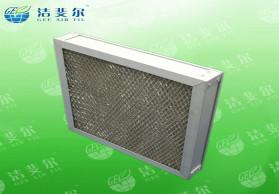 电子厂初效金属板式过滤器