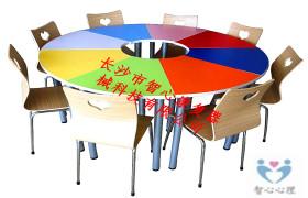 赣州毕业季彩色变型团体活动桌