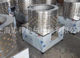 现货 上海名谷厂家直销全不锈钢80#桶直径鸡鸭鹅脱毛机拔毛机