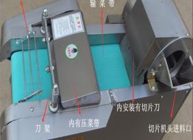 任创660型切菜机商用切片机蔬菜笋干酸菜海带切丝机多功能切丁机