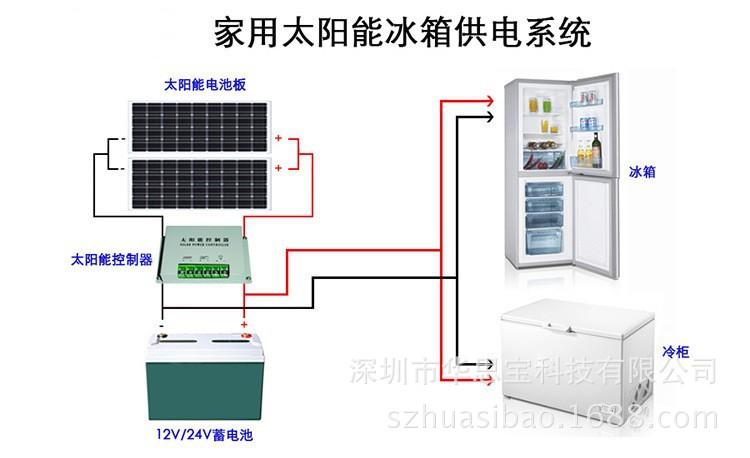 冰箱接太阳能接线图