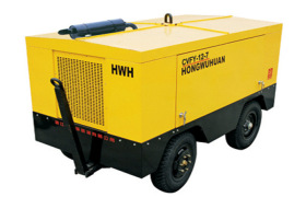CVFY12/7柴移厢式风冷活塞空气压缩机