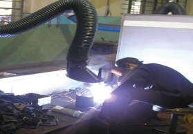 2mi原装型抽排臂、柔性活动臂、工业吸气臂、万向活动臂