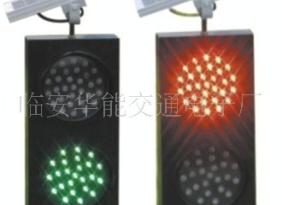 太阳能单面双灯红绿灯