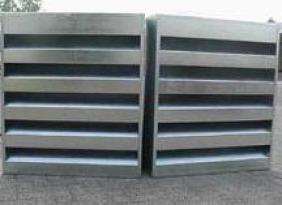 厂价供应 BXC消声百叶窗 材质可选 可定做   质量有保障