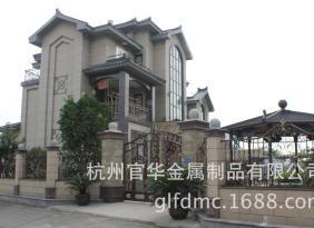 GL-005  铁艺围墙,铁艺围护,金属栏杆,铁艺栏杆,铁艺花窗,