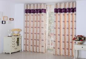 高档麻料遮光柯桥窗帘布厂家直销工程布艺批发剪样卧室客厅窗帘布