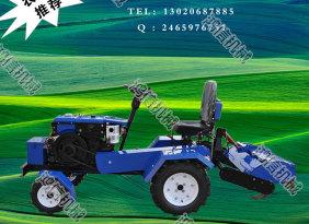 皮带传动12马力微型拖拉机 蜗杆涡轮转向拖拉机 电启动小型拖拉机
