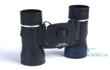 新品12x32折疊高清高倍綠膜雙筒折疊望遠鏡   企業采集  物美價廉