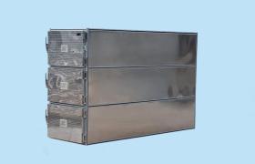 三屉遗体冷藏柜