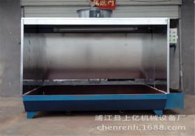 上亿机械专业制作环保新型双重过滤水帘机水帘喷漆台,经济适用