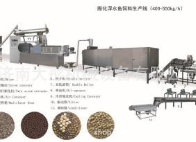 膨化机大型干法饲料膨化机 水产渔业养殖宠物膨化机 膨化机生产线