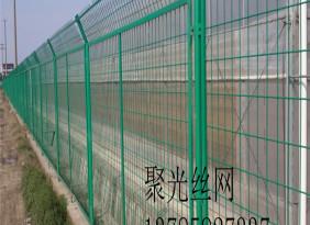 道路交通框架護欄網高速框網 綠色包塑護欄