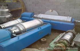 出售二手卧式螺旋卸料沉降离心机,江北二手卧螺离心机设备供应