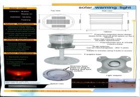 太阳能舷灯,艉灯,海洋船舶航行灯 太阳能航标灯