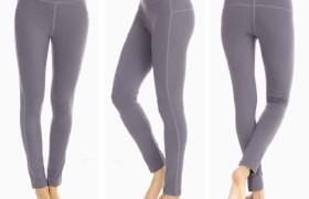 四針六線緊身褲 速干運動褲 健身褲