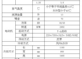 供应捷杨空压机店螺杆机台湾捷豹40HP螺杆式空压机
