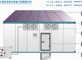 供应饮料冷藏库,保鲜冷藏设备,上海冰卓冷库生产厂家