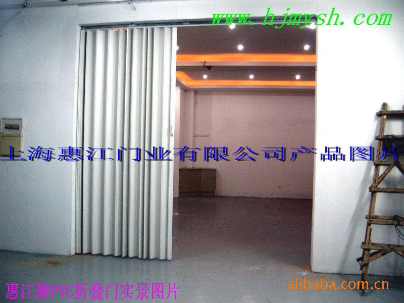 工厂车间PVC折叠门