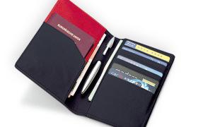 新款创意护照包女士多功能卡包证件包真皮护照夹机票夹 厂家批发